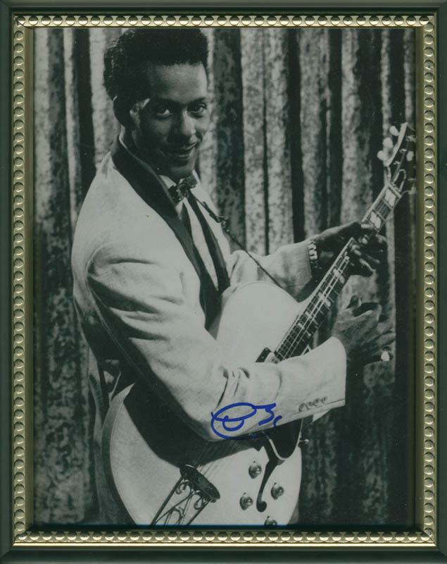 Image 1 for Chuck Berry - Autographed Signed Photograph - HFSID 288603