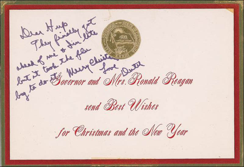 Image 1 for President Ronald Reagan - Autograph Note Signed - HFSID 288630