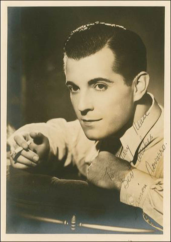 Image 1 for Ramon Novarro - Autographed Inscribed Photograph - HFSID 288632