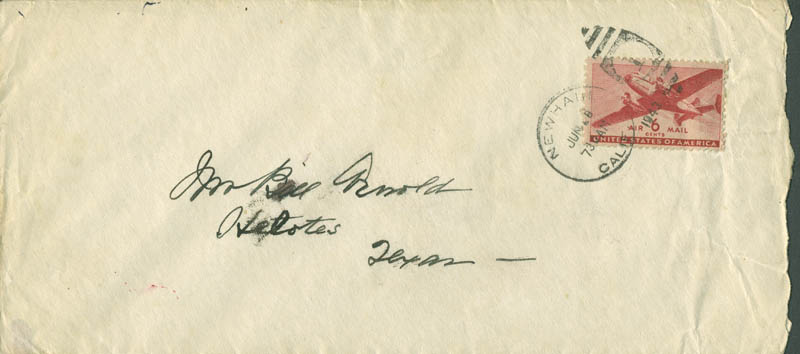 Image 3 for William S. Hart - Autograph Letter Signed 06/28/1943 - HFSID 288648