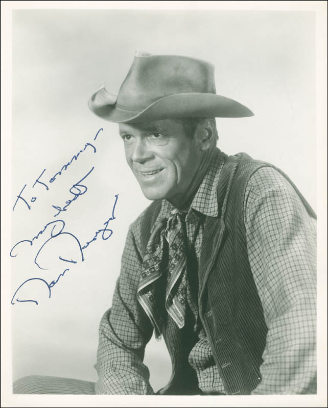 Image 1 for Dan Duryea - Autographed Inscribed Photograph - HFSID 288662