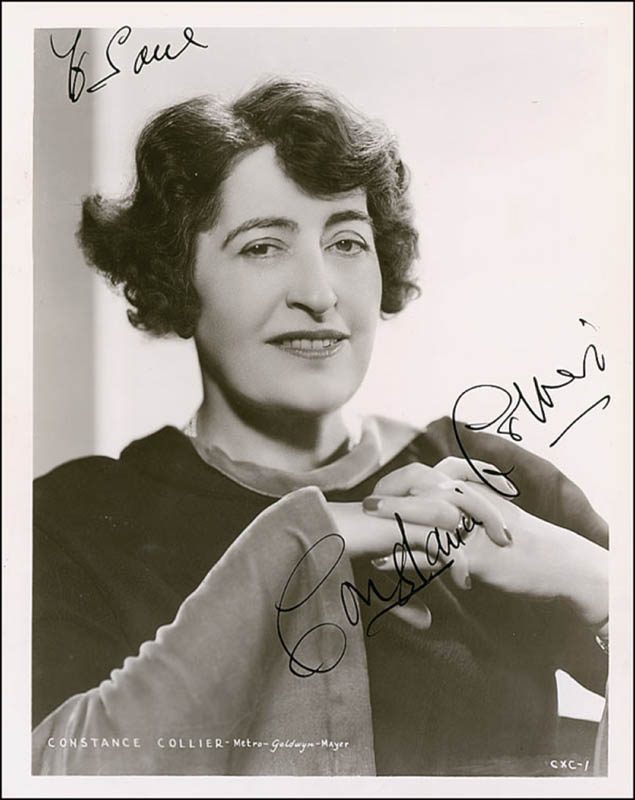 Image 1 for Constance Collier - Autographed Inscribed Photograph Circa 1936 - HFSID 288740