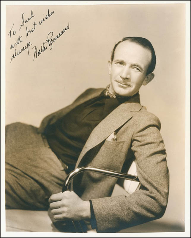 Image 1 for Walter Brennan - Autographed Inscribed Photograph Circa 1937 - HFSID 289037