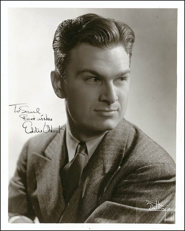 Image 1 for Eddie Albert - Autographed Inscribed Photograph Circa 1938 - HFSID 289062