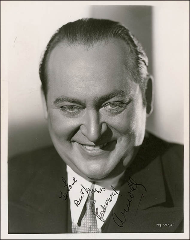 Image 1 for Edward Arnold - Autographed Inscribed Photograph Circa 1935 - HFSID 289065