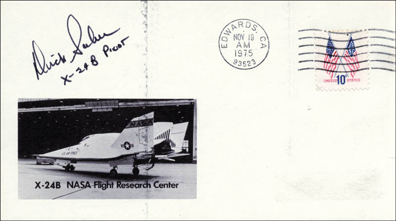 Image 1 for Lt. Colonel Dick (Francis R.) Scobee - Commemorative Envelope Signed - HFSID 28924