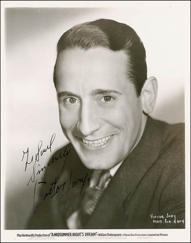 Image 1 for Victor Jory - Autographed Inscribed Photograph Circa 1937 - HFSID 289315