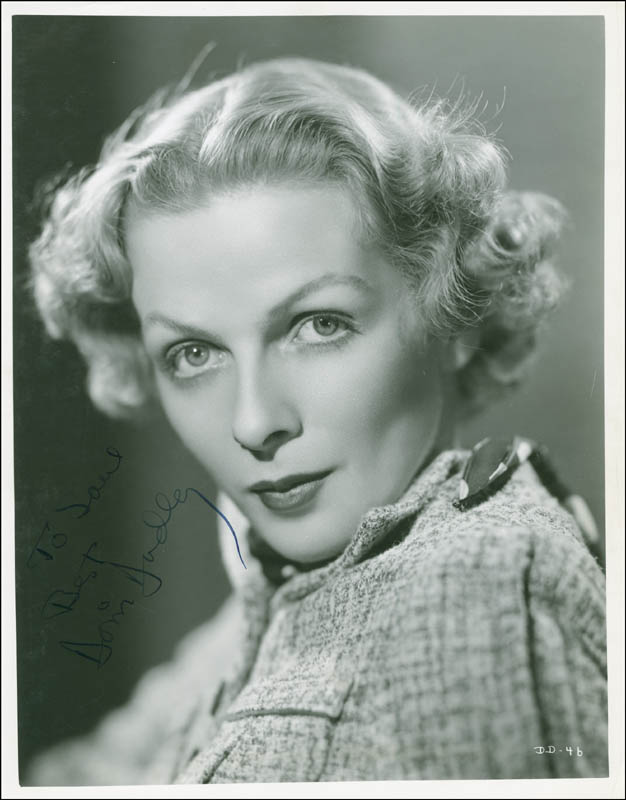 Image 1 for Doris Dudley - Autographed Inscribed Photograph Circa 1936 - HFSID 289330