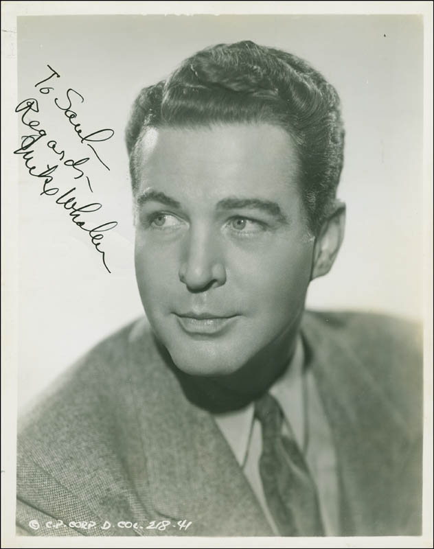 Image 1 for Michael Whalen - Autographed Inscribed Photograph Circa 1939 - HFSID 289343