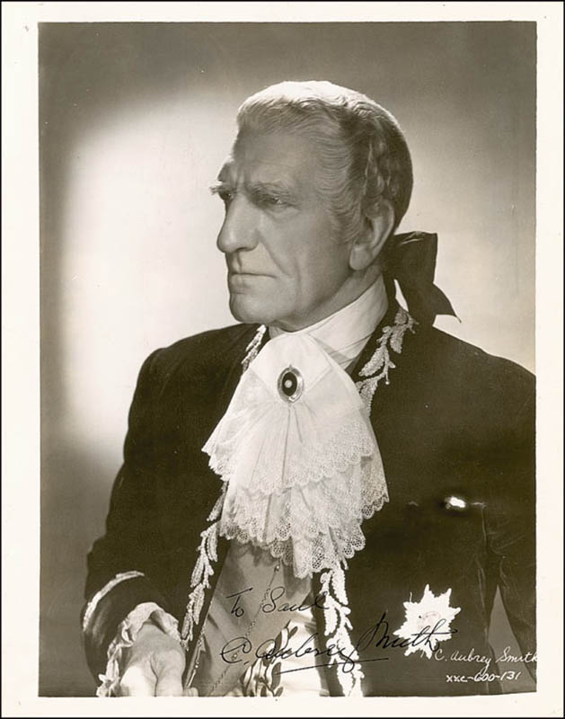 Image 1 for C. Aubrey Smith - Autographed Inscribed Photograph Circa 1935 - HFSID 289406