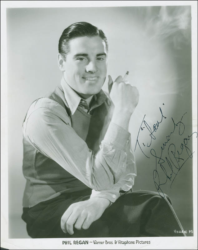 Image 1 for Phil Regan - Autographed Inscribed Photograph Circa 1935 - HFSID 289410