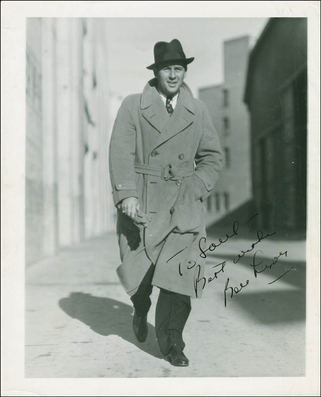 Image 1 for Ben Lyon - Autographed Inscribed Photograph Circa 1936 - HFSID 289511