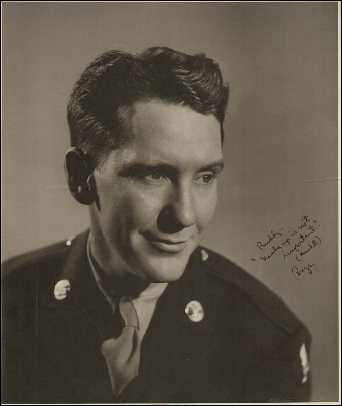 Image 1 for Burgess Meredith - Autographed Inscribed Photograph - HFSID 289560