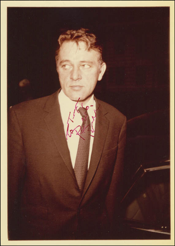 Image 1 for Richard Burton - Autographed Inscribed Photograph - HFSID 289586