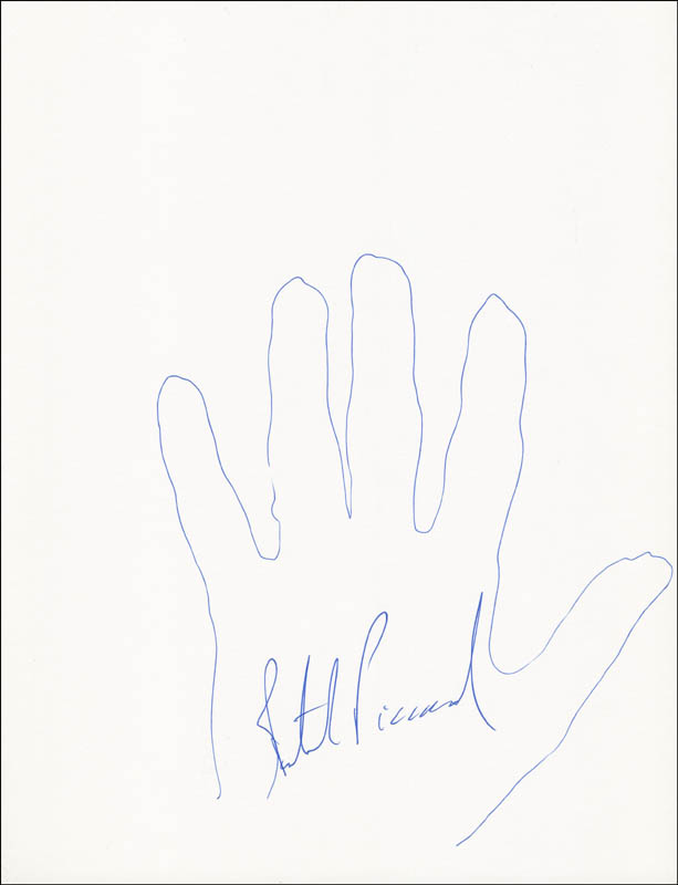 Image 1 for Bertrand Piccard - Hand/Foot Print Or Sketch Signed - HFSID 289722