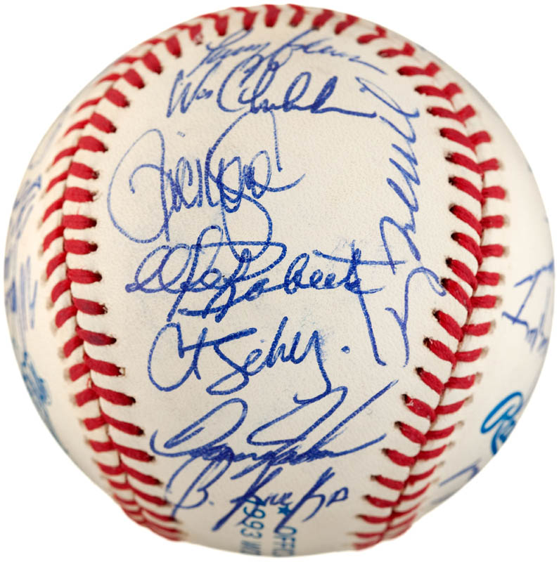 Image 3 for The Philadelphia Phillies - Autographed Signed Baseball with co-signers - HFSID 289765