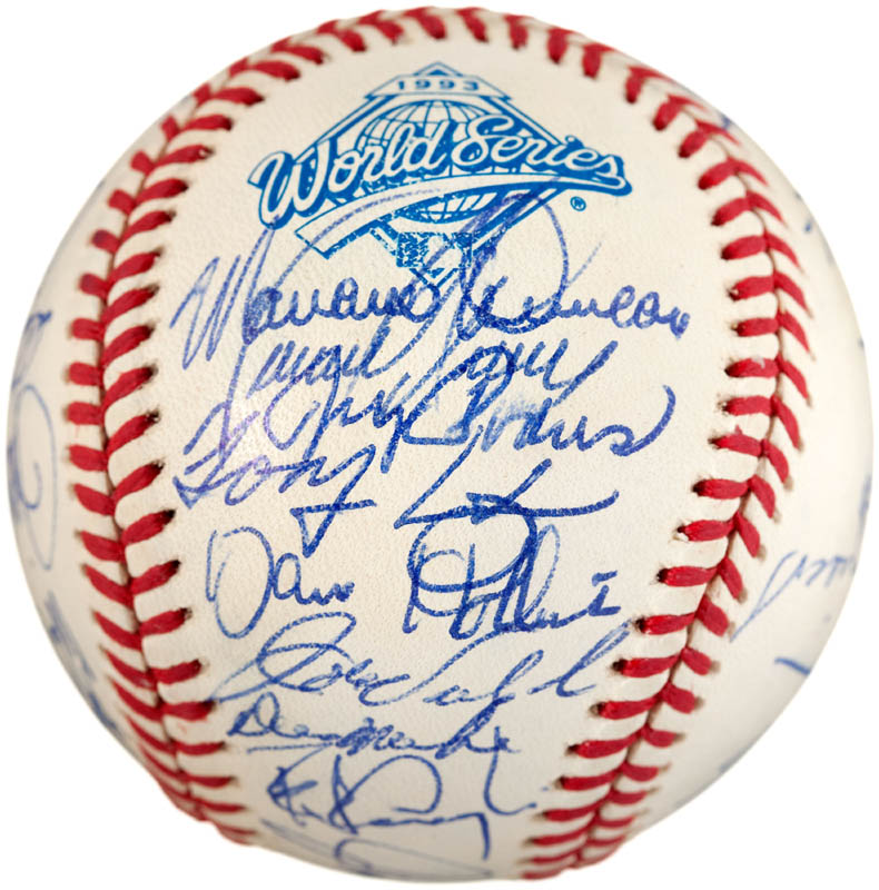 Image 5 for The Philadelphia Phillies - Autographed Signed Baseball with co-signers - HFSID 289765