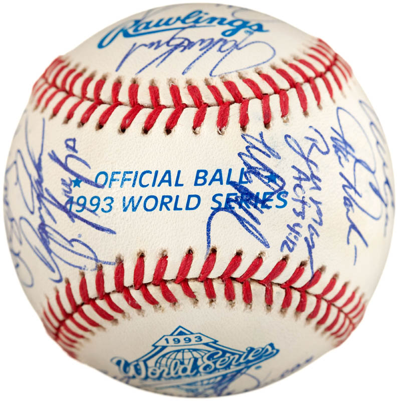 Image 6 for The Philadelphia Phillies - Autographed Signed Baseball with co-signers - HFSID 289765