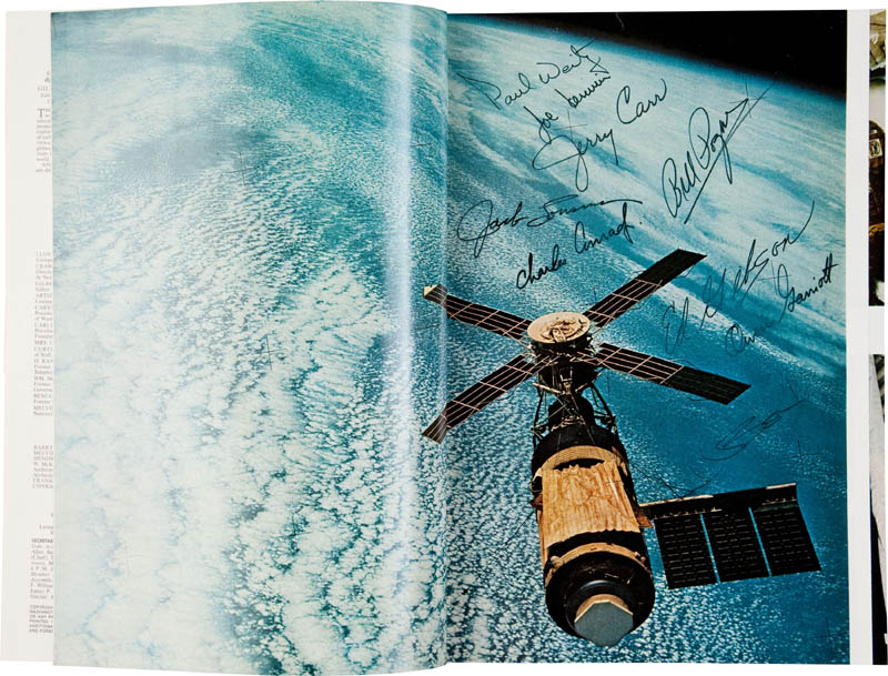 Image 1 for Skylab Space Station - Magazine Signed with co-signers - HFSID 289777