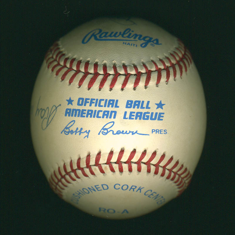 Image 4 for Ray Dandridge - Autographed Signed Baseball co-signed by: Buck Leonard - HFSID 289786