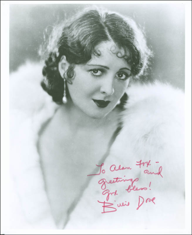 Image 1 for Billie Dove - Autographed Inscribed Photograph - HFSID 289879