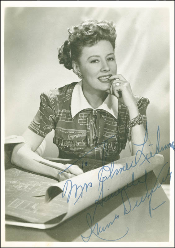 Image 1 for Irene Dunne - Autographed Inscribed Photograph - HFSID 289892