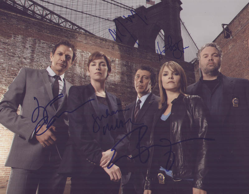 Image 1 for Law And Order: Criminal Intent TV Cast - Autographed Signed Photograph with co-signers - HFSID 289973