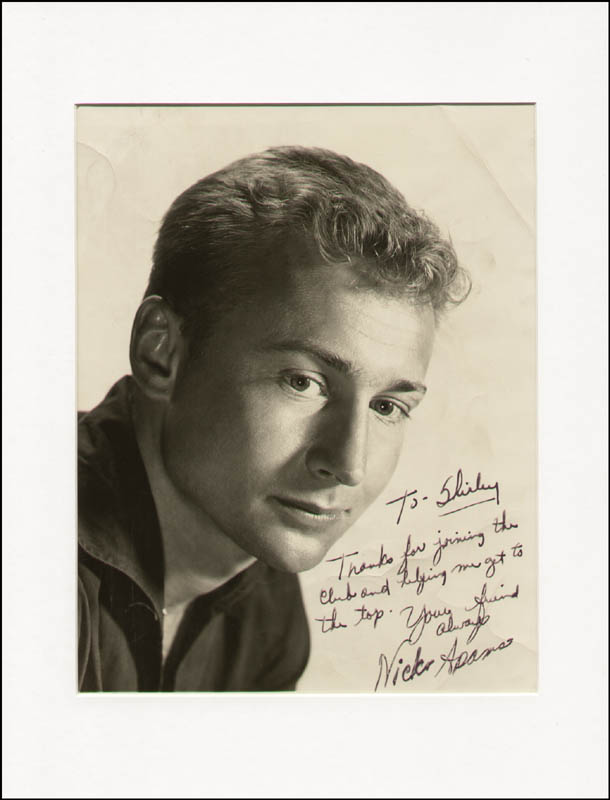 Image 1 for Nick 'The Rebel' Adams - Autographed Inscribed Photograph - HFSID 289991