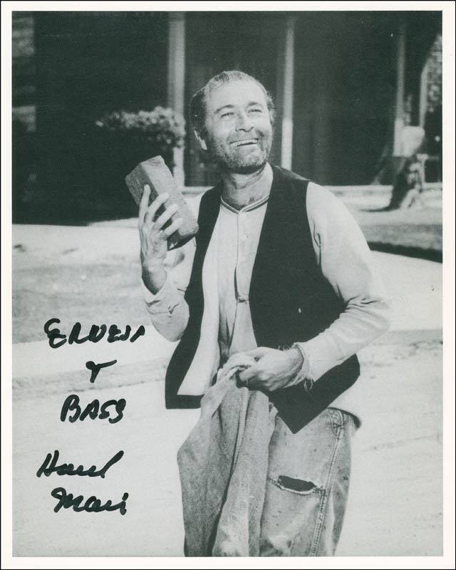 Image 1 for Howard Morris - Autographed Inscribed Photograph - HFSID 290012