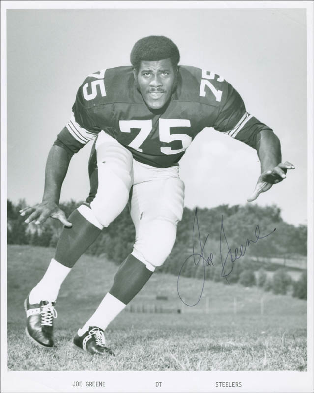 Image 1 for Joe 'Mean Joe' Greene - Autographed Signed Photograph - HFSID 290034