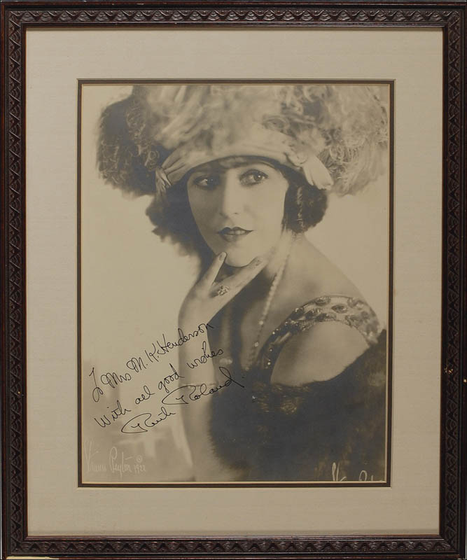 Image 1 for Ruth Roland - Autographed Inscribed Photograph - HFSID 290070