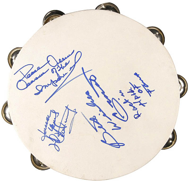 Image 1 for Little Anthony And The Imperials - Ephemera Signed with co-signers - HFSID 290095