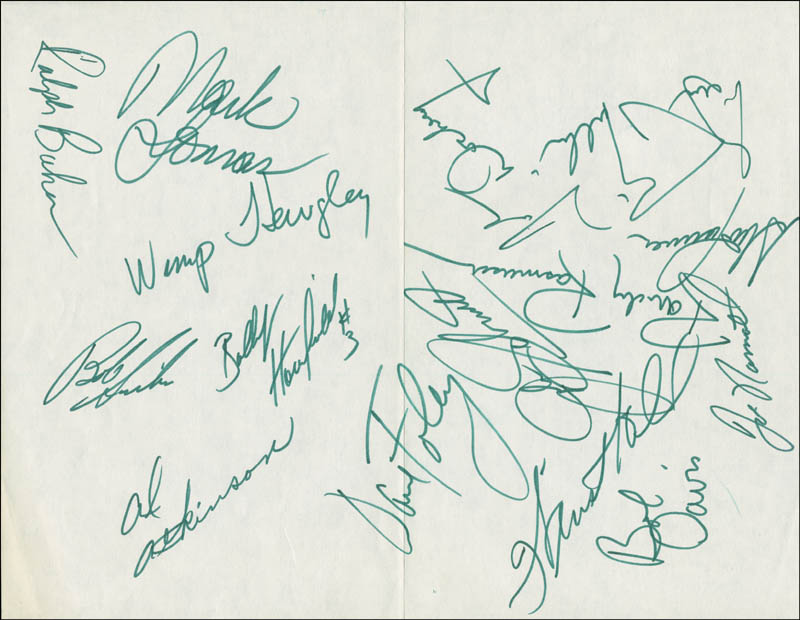 Image 1 for New York Jets - Autograph Circa 1970 with co-signers - HFSID 290113