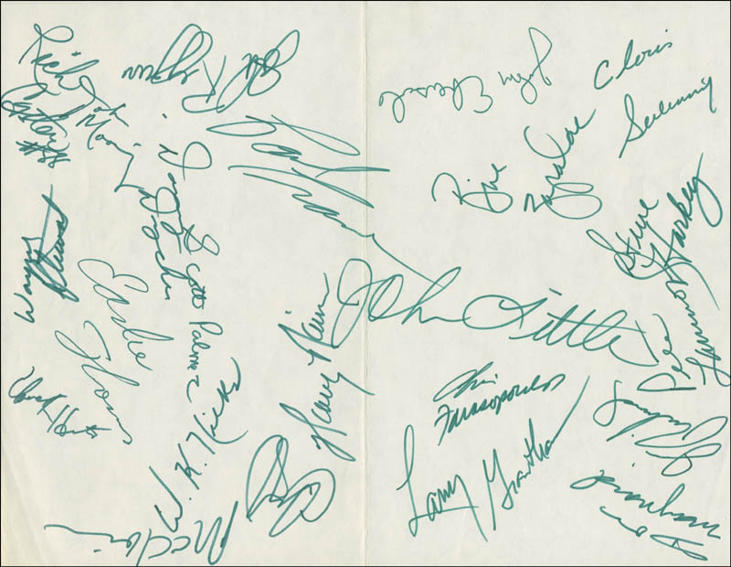 Image 3 for New York Jets - Autograph Circa 1970 with co-signers - HFSID 290113