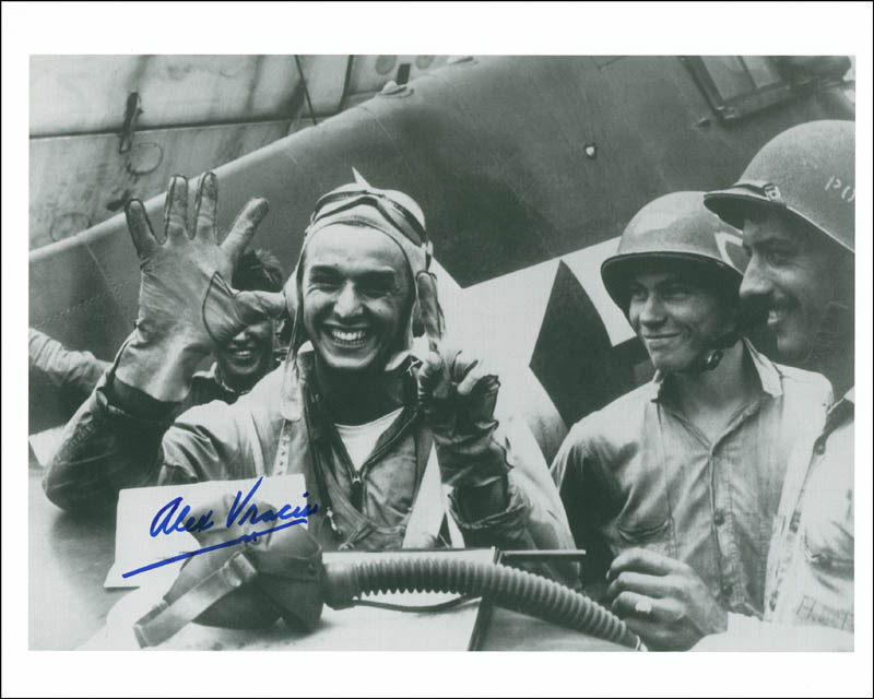 Image 1 for Commander Alexander Vraciu - Autographed Signed Photograph - HFSID 290142