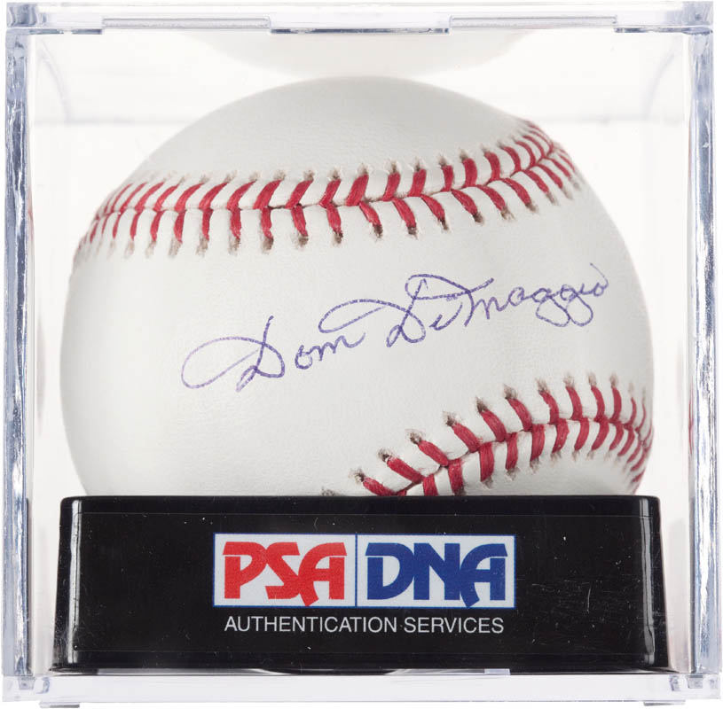 Image 1 for Dom Dimaggio - Autographed Signed Baseball - HFSID 290249