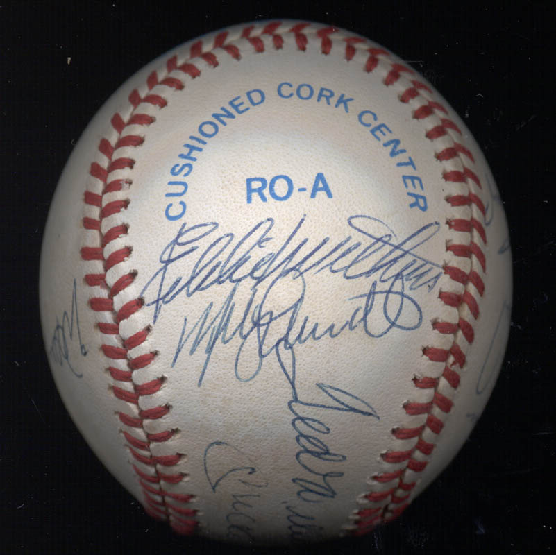 Image 5 for 500 Home Run Hitters - Autographed Signed Baseball with co-signers - HFSID 29039