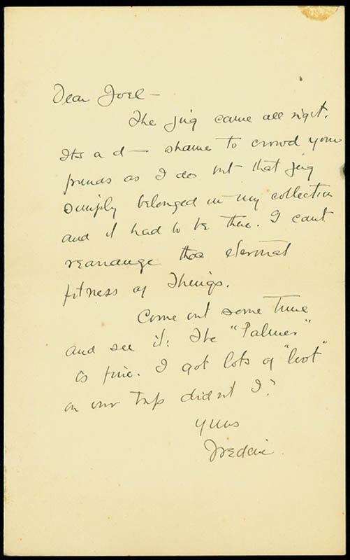 Image 1 for Frederic Remington - Autograph Letter Signed - HFSID 290434