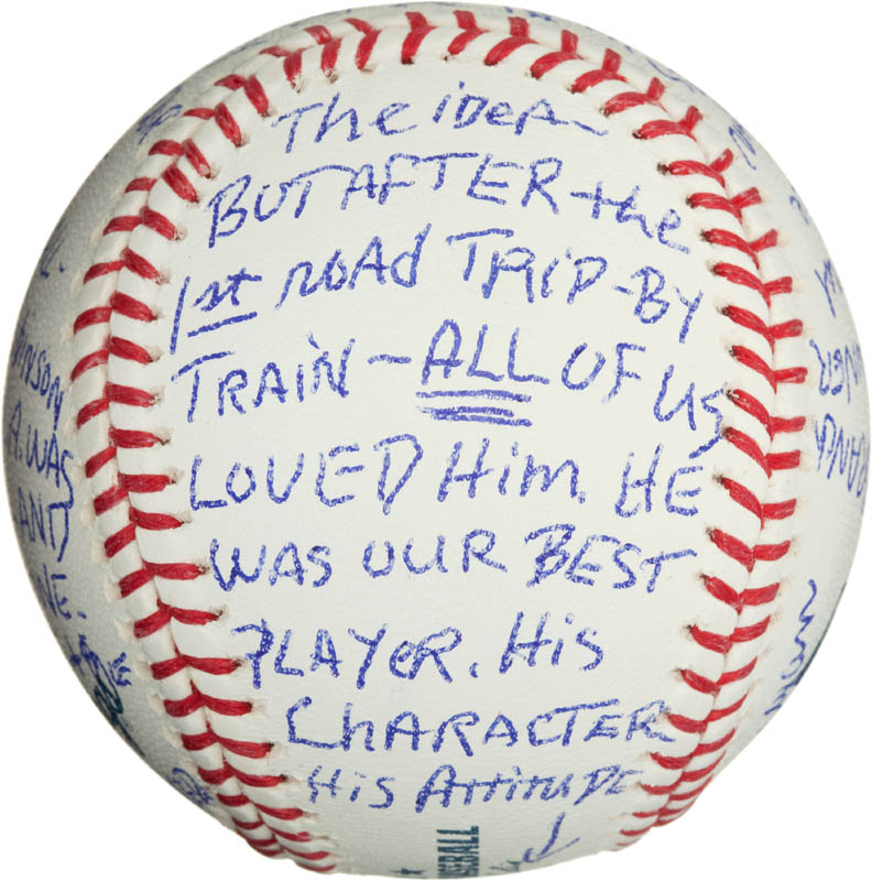 Image 5 for Bobby 'Nig' Bragan - Annotated Baseball Signed - HFSID 290567