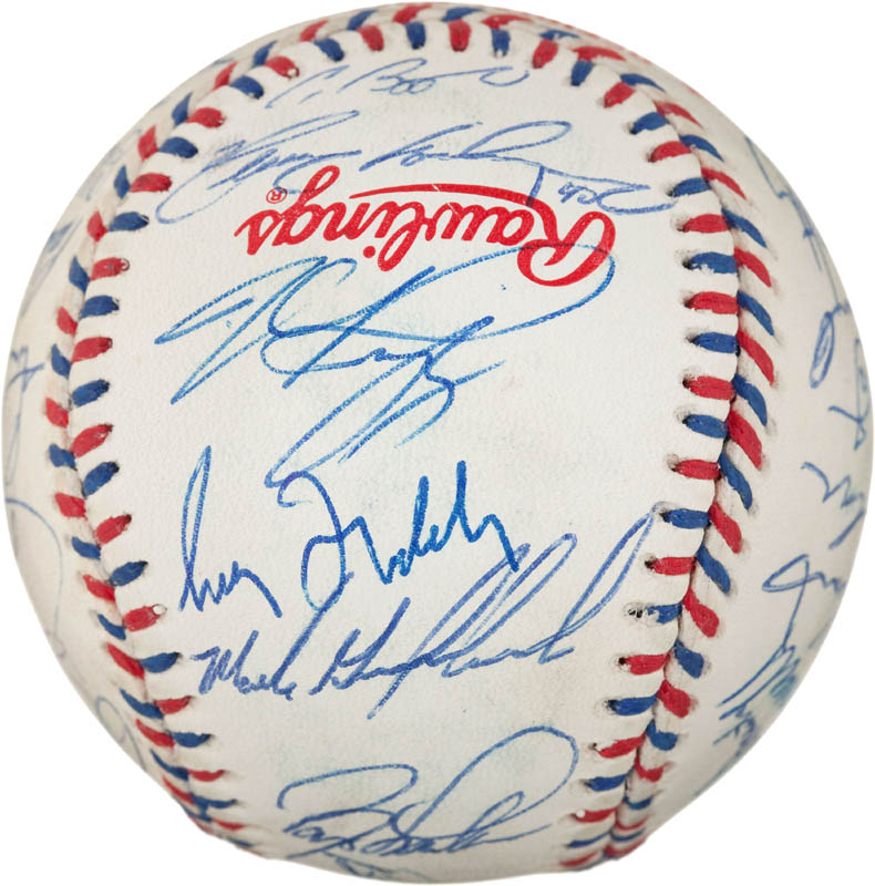 Image 5 for 1996 National League All Star Team - Autographed Signed Baseball with co-signers - HFSID 290593