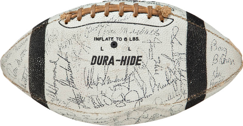 Image 5 for 1963 Baltimore Colts - Football Signed with co-signers - HFSID 290653