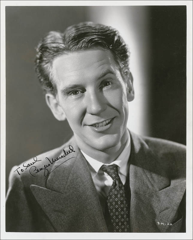 Image 1 for Burgess Meredith - Autographed Inscribed Photograph - HFSID 290802