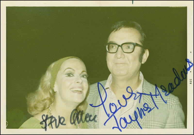 Image 1 for Steve Allen - Autographed Signed Photograph co-signed by: Jayne Meadows - HFSID 290867