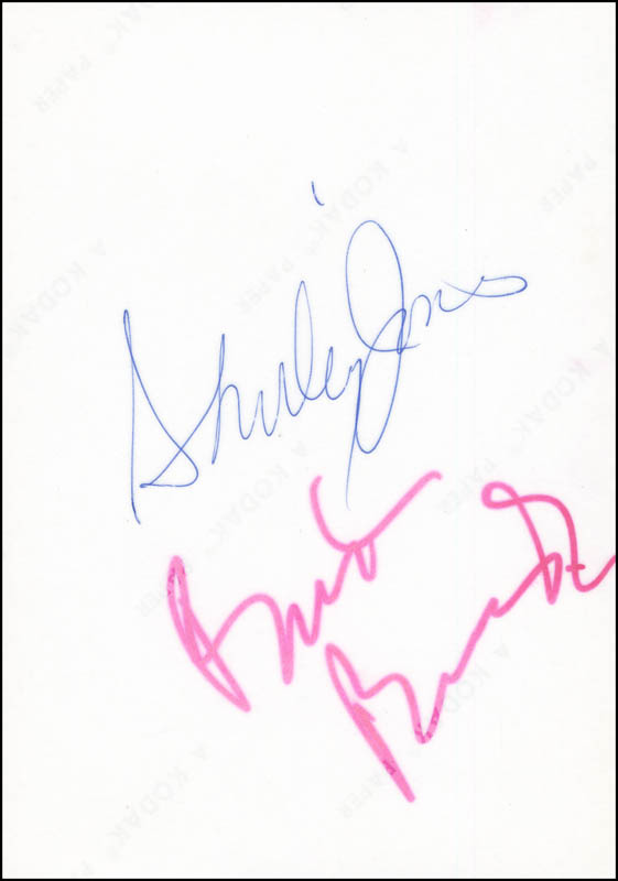 Image 1 for Shirley Jones - Autographed Signed Photograph - HFSID 290868