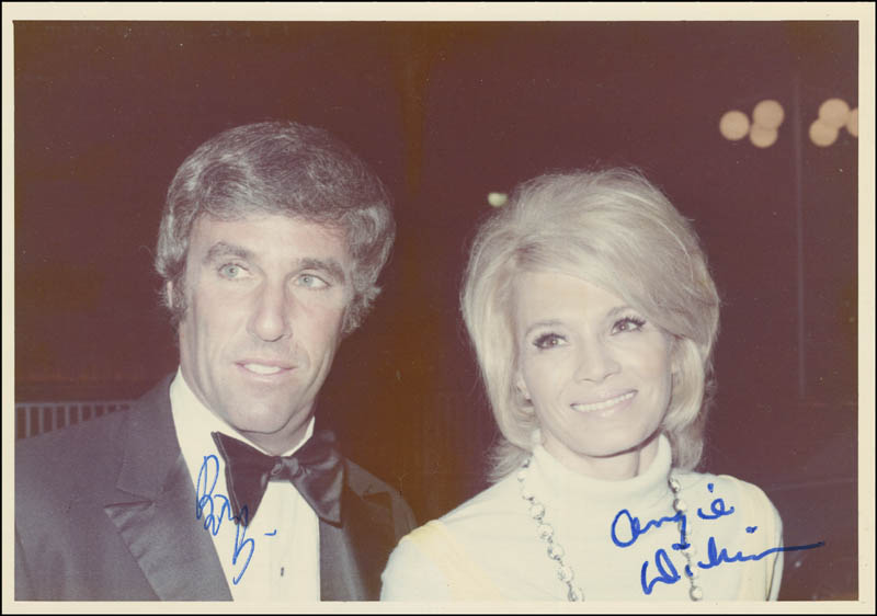 Image 1 for Burt Bacharach - Autographed Signed Photograph co-signed by: Angie Dickinson - HFSID 290872
