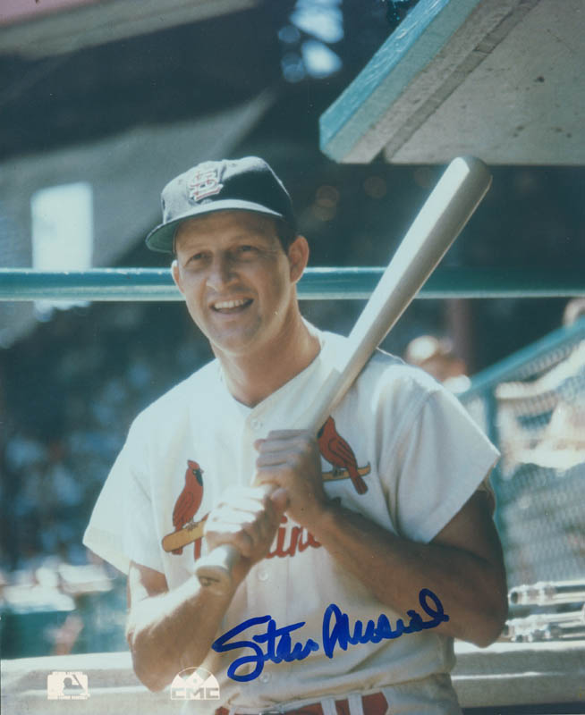 Image 1 for Stan 'The Man' Musial - Autographed Signed Photograph - HFSID 290883