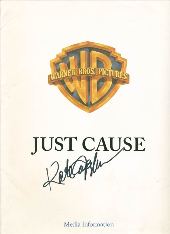 Image 1 for Kate Capshaw - Pamphlet Signed - HFSID 291231