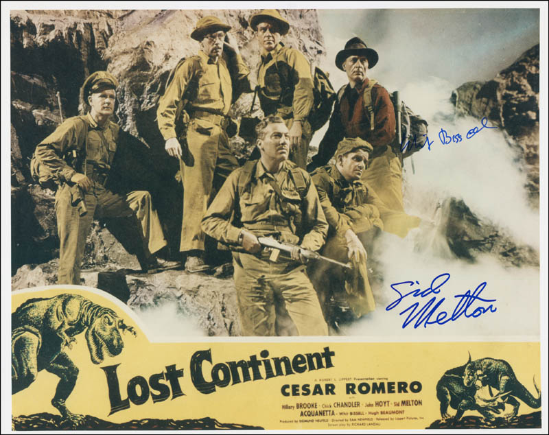 Image 1 for Sid Melton - Autographed Signed Photograph co-signed by: Whit Bissell - HFSID 291264