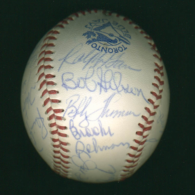 Image 4 for Curt Flood - Autographed Signed Baseball with co-signers - HFSID 291298