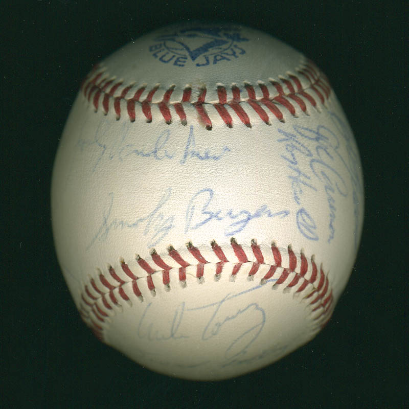 Image 7 for Curt Flood - Autographed Signed Baseball with co-signers - HFSID 291298